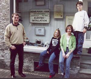 Familie Fuchs im Jahr 2000
