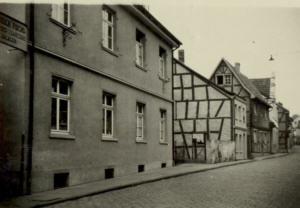 Das Anwesen 'Fuchs' in den 1940er Jahren