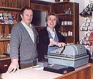 Die Eltern: Heinrich Fuchs jr. mit Ehefrau Maria